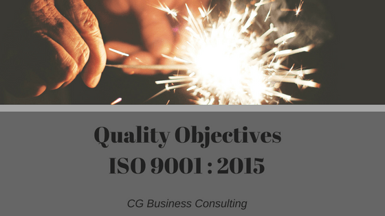 ISO 9001 and Quality Objectives | CG Business Consulting |